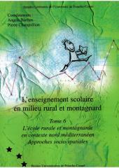 - Angela BARTHES - Pierre CHAMPOLLION - L'école rurale et montagnarde en contexte nord-méditerranéen - Approches socio-spatiales