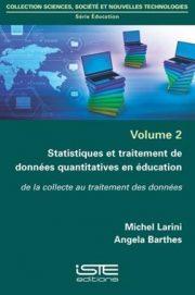 - Michel LARINI - Angela BARTHES - Statistiques et traitement de données quantitatives en éducation